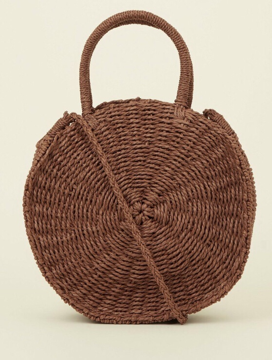 Newlook straw bag