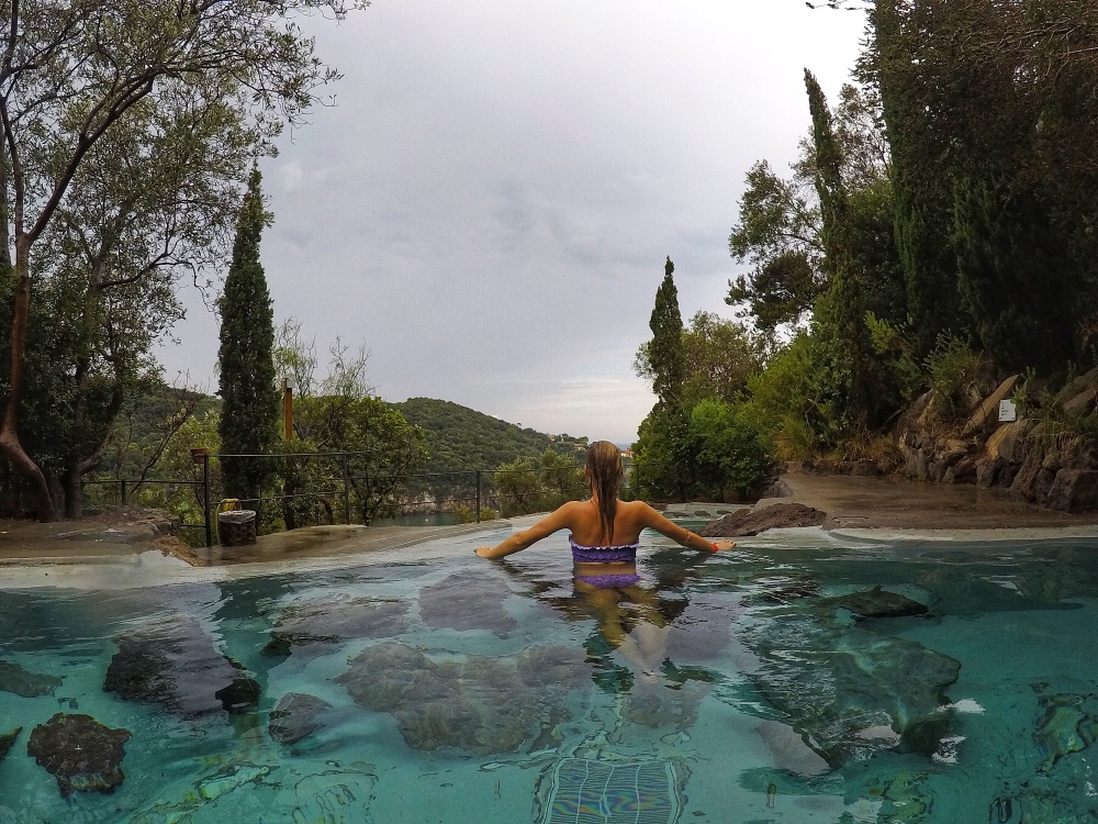 Thermal baths hot springs ischia