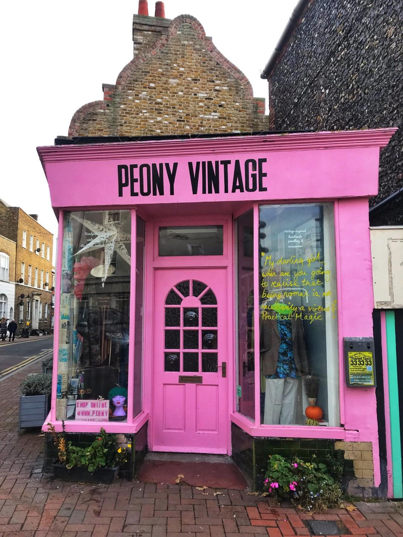 Vintage shop Margate