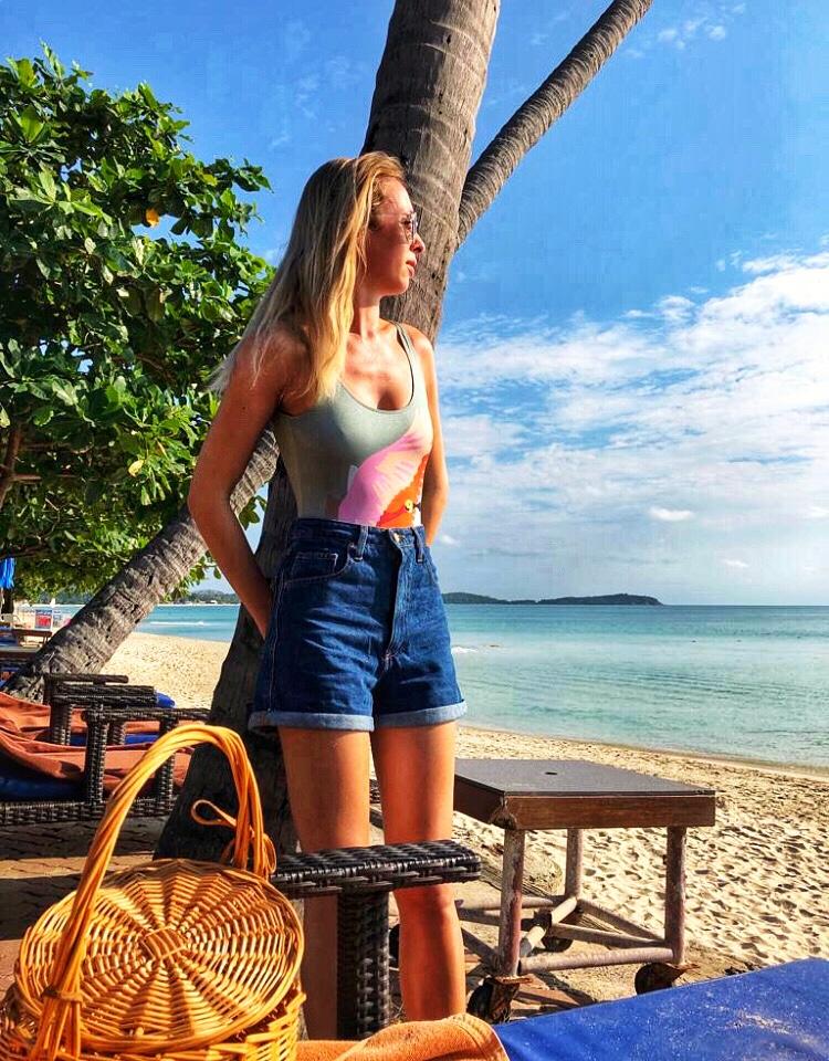 Thailand travel ootd style