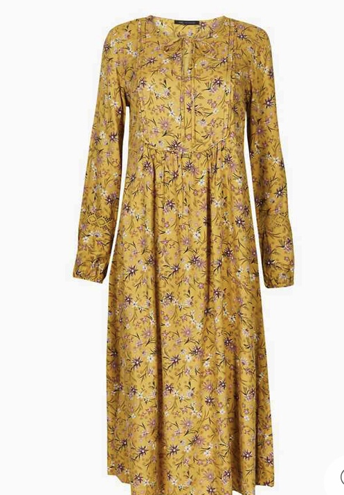 prairie dress, M&S
