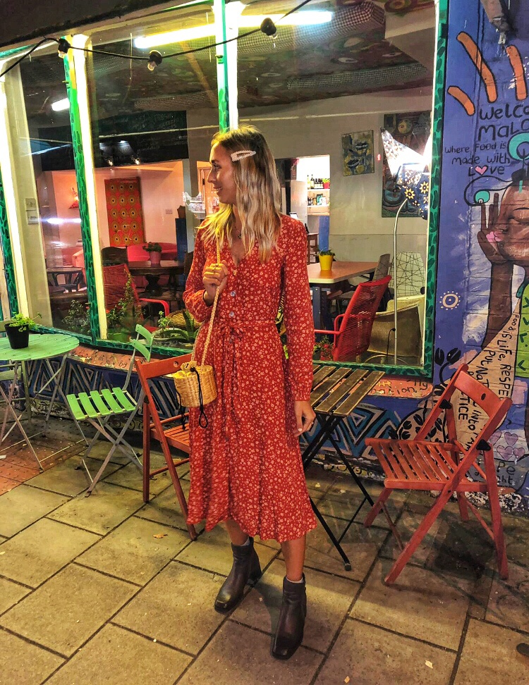 Newlook orangedress styleinspo fashion