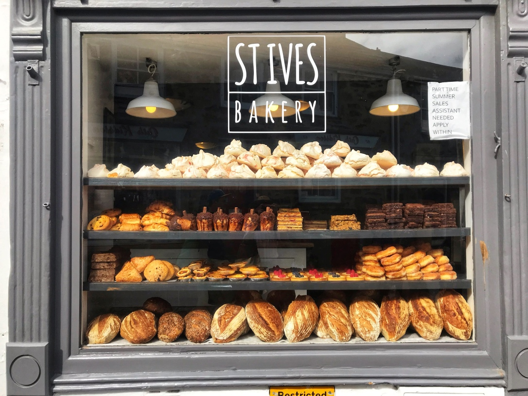 St Ives Cornwall bakery